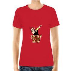 Johnny Bravo (women's t shirt)