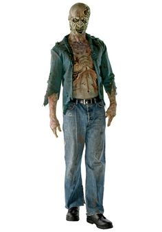 Deluxe Decomposed Zombie Costume - Licensed Walking Dead Costumes