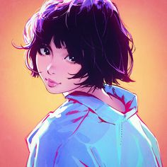 Kuvshinov Ilya is creating Illustrations and Comics