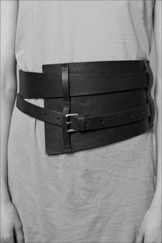 nothings:  Damir Doma belt