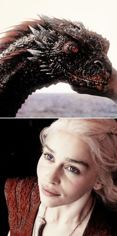 Daenerys Targaryen and Drogon. Khaleesi, Mother of Dragons, Emelia Clarke. Game of thrones edit Daenerys Targaryen, Khaleesi, Emilia Clarke, Winter Is Here, Winter Is Coming, Best Tv Shows, Favorite Tv Shows, Breathing Fire, The Mother Of Dragons