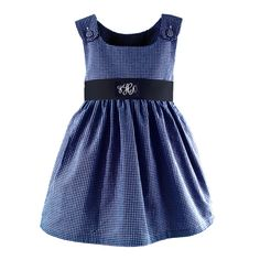 This Monogrammed Pique Dress with Sash would be adorable for your little one to wear at a Hanukkah Party!