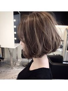 ボブヘアで可愛くなるヘアカタログ【人気画像まとめ】 - NAVER まとめ