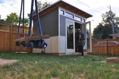 Studio Shed creates high-efficiency prefab modern sheds and backyard studios. Design and build your own modern studio with our 3D Configurator tool.