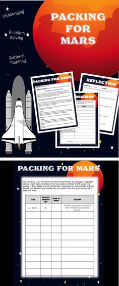 Packing for Space -