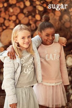 Rose & Zoe from Sugar Kids for Lefties 'Soft collection' fall 2016