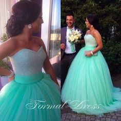 Long Sleeve Wedding Dresses 2015 Hot Sale Ball Gowns Wedding Dresses Sweetheart Neck Sequins Beaded Tulle Light Blue Bridal Gowns With Sweep Train Ball Gowns Wedding Dress From Nicedressonline, $217.18| Dhgate.Com