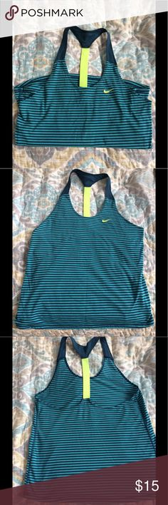 Nike Dri-Fit tank Great condition. Size small. Nike Tops Tank Tops