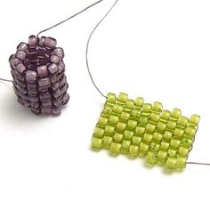 FREE: Introduction to Seed Beads;  This is a great class to watch for all skill levels of seed beaders. If you haven't done any seed bead work, Laura covers the basics such as: tools and materials, different types of seed beads, flat and odd count peyote stitch, tubular even and odd count peyote stitch, and threading a needle.