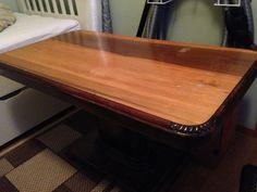 Gammelt bord gis bort. Str. 110X60 høyde 64 | FINN.no