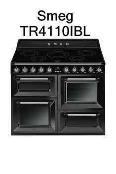 Smeg TR4110IBL Electric Range Cookers, Kitchen Appliances, Diy Kitchen Appliances, Home Appliances, Electric Stove