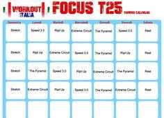 shaun focus t25 calendario gamma