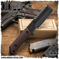 Modern Men's Hat Style Cool Knives, Knives And Tools, Knives And Swords, Monkey Edge, Strider Knives, Toyota Tacoma Double Cab, Cosplay Helmet, Tac Gear, Knight Armor