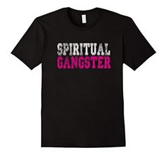 Amazon.com: Spiritual Gangster Tshirt: Clothing Spiritual Gangster Graphic Tee Collegiate Font White and Pink