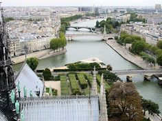 The view from Notre Dame in #Paris - incredible vantage point for jaw-dropping views of the City of Light. #France #photography