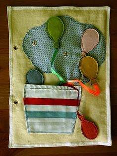 Great ideas for quiet book pages