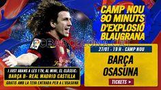 Tickets FCB - Osasuna #FCBarcelona #Tickets #CampNou #Game #Match