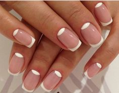 New French by SYass via @nailartgallery #nailartgallery #nailart #nails #polish