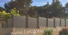 Cloture Alu couleur Taupe en Redan Durance, Pose, Photos, Plants, Pictures, Plant, Planting, Planets