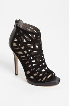 Sam Edelman 'Ellie' Cage Peep Toe Bootie available at #Nordstrom $149.95