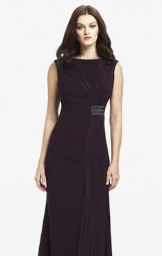 Ruched Embellished Gown by Daymor Couture