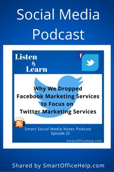 022 Why We Dropped Facebook Marketing Services to Focus on Twitter Marketing Services