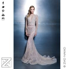 """Elegance Vibes"" The New 2015 Haute Couture Collection by the Fashion Designer #ZiadNakad #HauteCouture #2015 #Collection #ZN #Fashion #beirut #lebanon #lebanese #fashiondesigner #international #redcarpet #fashion #celebrity #star #hollywood"