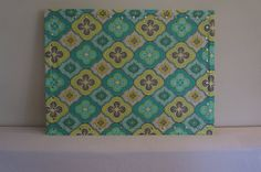 Items similar to Message pin board -Aqua and Yellow weddings, home, escort card, seating chart. on Etsy Pinboard, Home, Fabric, Etsy, Printed Shower Curtain, Memo Board, Boards, Yellow, Cork Board