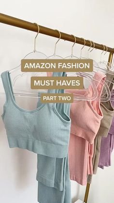Best Amazon Buys, Amazon Products, Amazon Purchases, Activewear Sets, Summer Outfits, Cute Outfits, Color Beige, Fashion Essentials, Cool Things To Buy