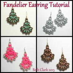 Beading by Beth: Fandelier Earring Tutorial download https://drive.google.com/file/d/0B9my7xH1quUHN0x3RWJwYzJkMEk/view?usp=sharing&pref=2&pli=1