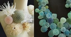Japanese artistMariko Kusumotouses translucent fabric to produce balloon-like objects, orbs that contain various forms trapped within their soft exterior. The creations inside range from smaller versions of the spherical sculptures to sea creatures and cars, playful forms that fit the bright c