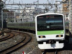 JR Line Yamanote. Tokyo, Japan