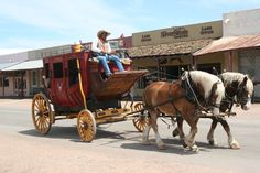 Old Butterfield Stage Coach, Ride the Old Butterfield Stage Coach and enjoy a 20 minute narrated tour of Historic Old Tombstone.