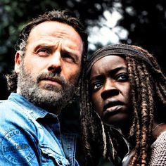 Rick e Michonne, più uniti che mai nell'ottava stagione