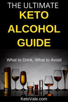 Keto Alcoholic Drinks Guide