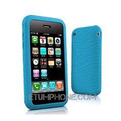 Etui iPhone Fullgrip silicone lagoon 3G/S sur http://www.etui-iphone.com/c/etui-iphone-3gs.awp