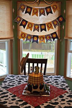 Andrew's 3rd birthday. Toy Cowboy party with free printables! Perfect for a Toy Story fan