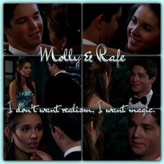 #GH #GH50 #Rally - Molly & Rafe I don't want realism, I want magic.