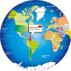 Where is Venezuela?, Venezuela location map,location Venezuela globe fre locaton map venezuela