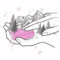 Jasper Fox Designs reminds us what is important. looking after each other with simple hand washing and spending time in the mountains (a great social distancing activity!) Thanks Jaime! Image by
