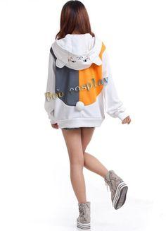 Natsume Yuujinchou Jacket hoodies Cat Teacher Cosplay Costume on Aliexpress.com