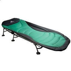 Camping Cot - I have this cot and it was the best purchase ever! Spend the extra money for it rather than a cheap one. The legs are telescoping for uneven ground and the padding is so comfy! I bring it when I have to sleep at a friend or familys house...folds up easy! #CampingCot