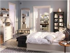 Small Bedroom Storage Ideas..