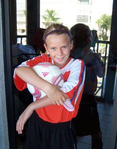 my soccer star!