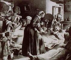 Florence Nightingale....original nurse and very brave soul!
