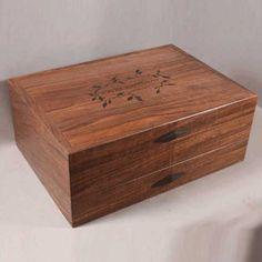 Custom flatware chest