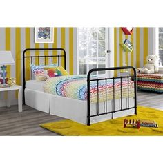DHP Brooklyn Iron Twin-size Bed | Overstock.com Shopping - Great Deals on Beds