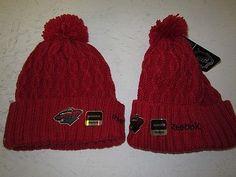 Minnesota Wild Reebok Womens Heavy Knit Stocking Cap Hat Toque Free Shipping | eBay
