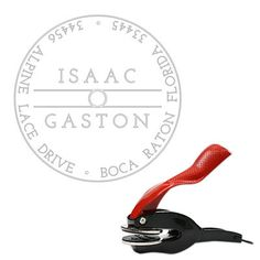 Gaston Round Embosser