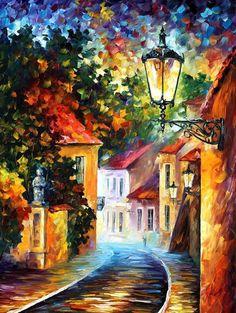 Leonid Afremov's painting